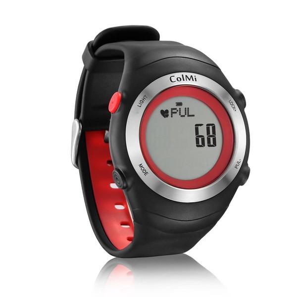 Yeni 5ATM IP68 Su Geçirmez Koşu Spor Akıllı Izle Kalp Hızı Monitörü Adımları Kalori Egzersiz Süresi Smartwatch Izle