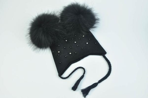 Black match fur