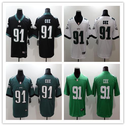 size 40 19a6f 212da 2018 2018 2019 Mens 91 Fletcher Cox Philadelphia Eagles Football Jersey  100% Stitched Embroidery Fletcher Cox Jersey Stitching Limited Jersey From  ...