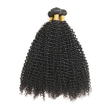 Very cheap product. Kinky Curly Brazilian Hair Weave Bundles 100% Human Hair Hair Extensions 1PC /100g Unprocessed Double Weft