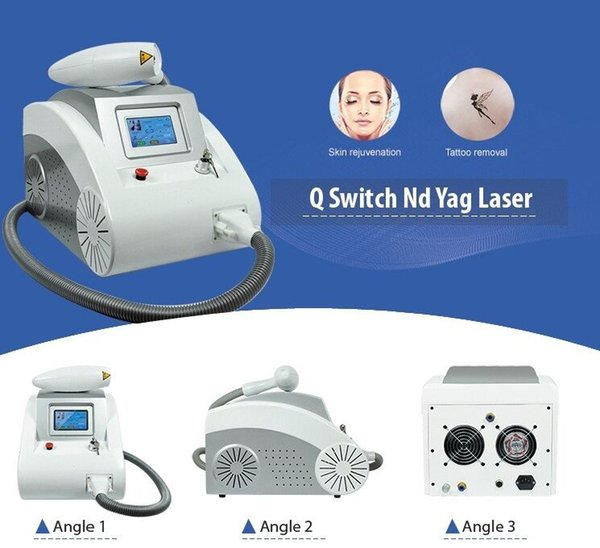 2000MJ Touch Screen Q Switched Nd Yag Laser Machine tattoo removal Eyebrow Pigment Removal Scar Acne removal 1320nm 1064nm 532nm