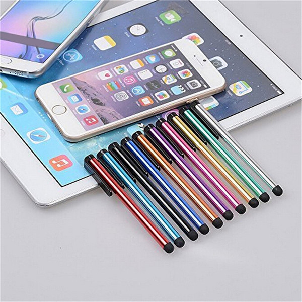 10PC Capacitive Touch Screen Stylus Pen For iPhone iPad 3/2 iPod Touch Suit For Universal Phone Tablet PC Pen