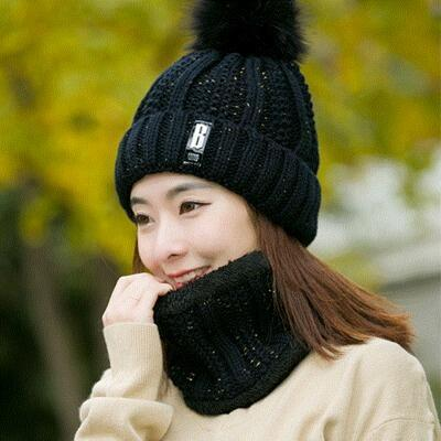 black Hat and Scarf