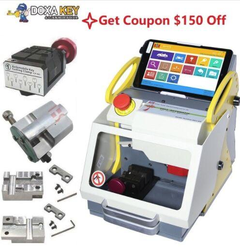 New 4 Clamp Most Popular Modern Automatic Key Copy Key Cutting Machine,High Security Locksmith Tools From China Supplier