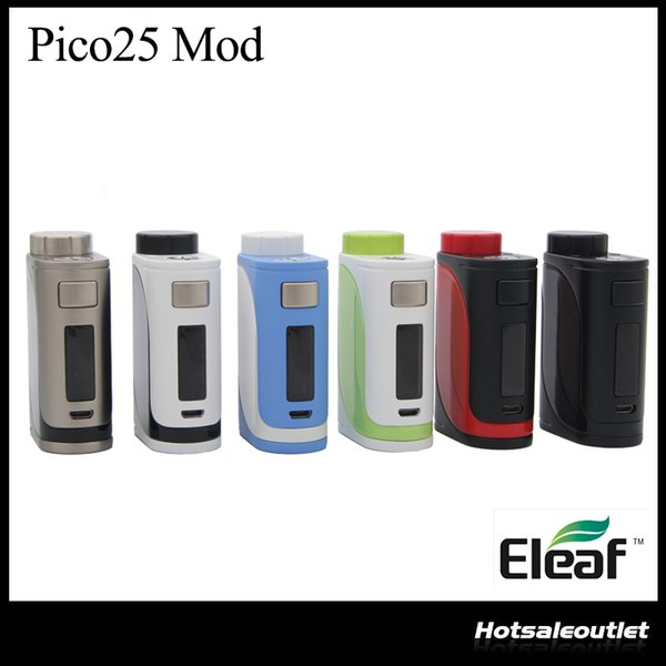 Eleaf iStick Pico 25 85w Box Mod Best Match with 2ml ELLO Atomizer Powered By Single 18650 Battery (not include) 100% Original