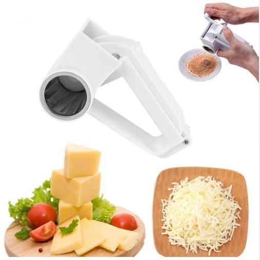 Queso Nueces Slicer Graters Acero inoxidable Ginge Crusher Ajo Prensa de mano Ajo Rompecristales Masher Kitchen Tools c456