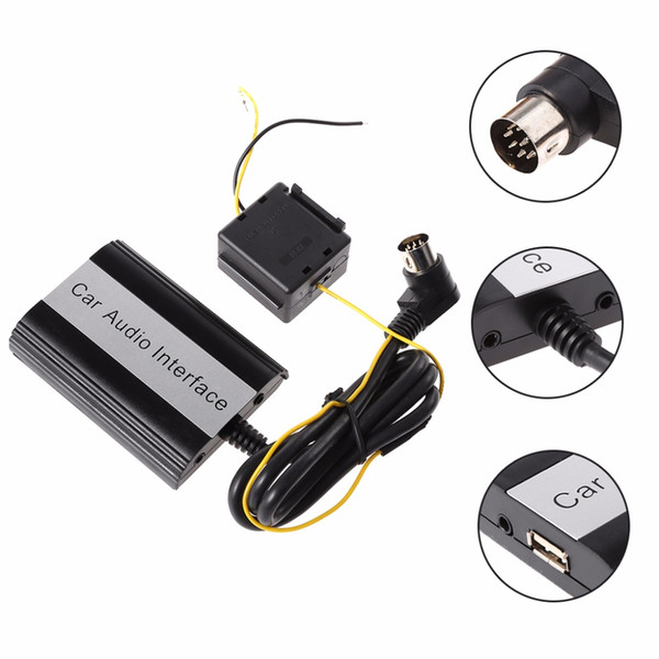 Handsfree Car Bluetooth Kits MP3 Player Muisic AUX Adapter Interface For  HU-series C70 S40/60/80 V40 V70 XC70 C45