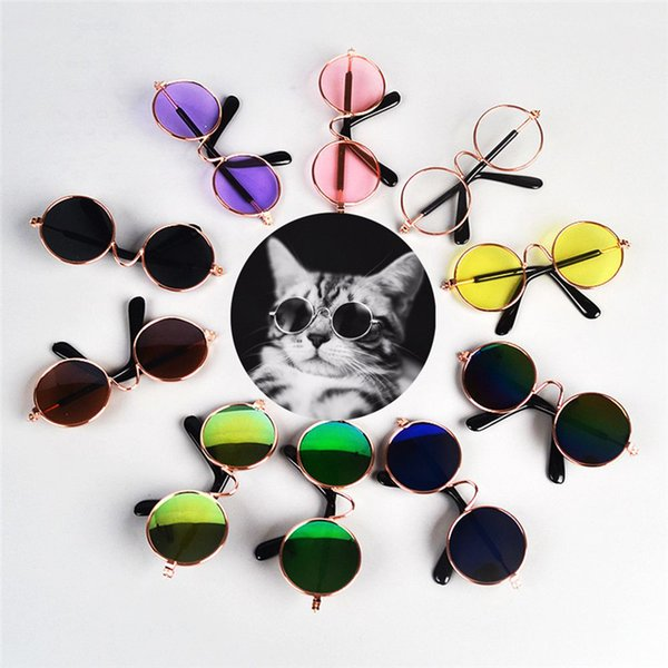 1Pcs Hot Sale Dog Pet Glasses For Pet Products Eye-wear Dog Pet Sunglasses Photos Props Supplies Cat Glasses