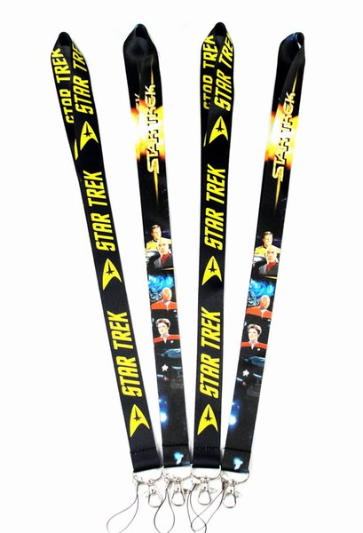 20 PCS Cell Phone Cartoon Star Trek Lanyard Key Chain Necklace String E-Cigarette Neck Strap Work ID card lanyard For iPhone 7Plus Samsung