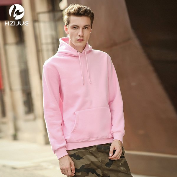 Pullover Hoodie Weiß Pink Grau Khaki Grün Kapuze, Gr. M +
