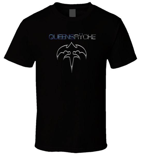 Queensryche 5 Nouveau Vente Chaude Hommes Noir T Shirt Coton Taille S - 3xl 100% Coton T-shirt D'été À Manches Courtes Chaud Hommes Pas Cher