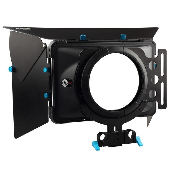 vendita all'ingrosso DP3000 Pro DSLR matte box parasole w / ciambelle f 15mm rod rail rig 5D II III