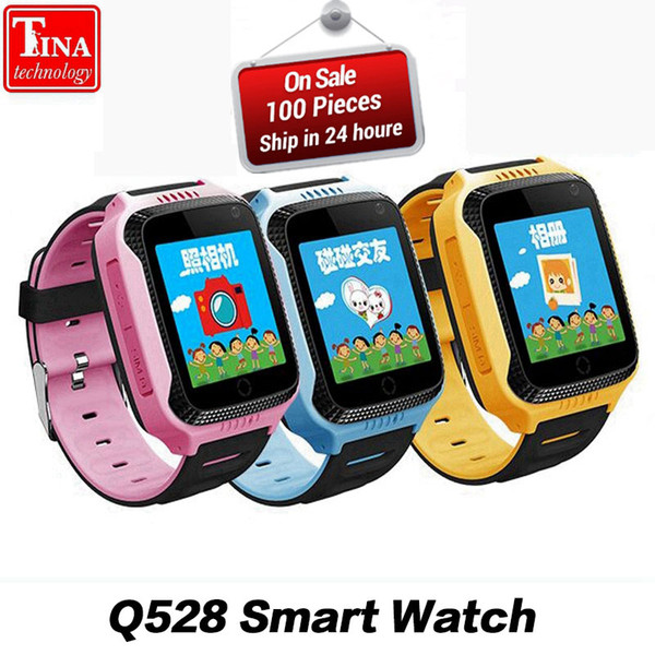 Originale Q528 Y21 Touch Screen Bambini GPS Watch con illuminazione della fotocamera Smart Watch Sleep Monitor GPS SOS Baby Watch PK dz09