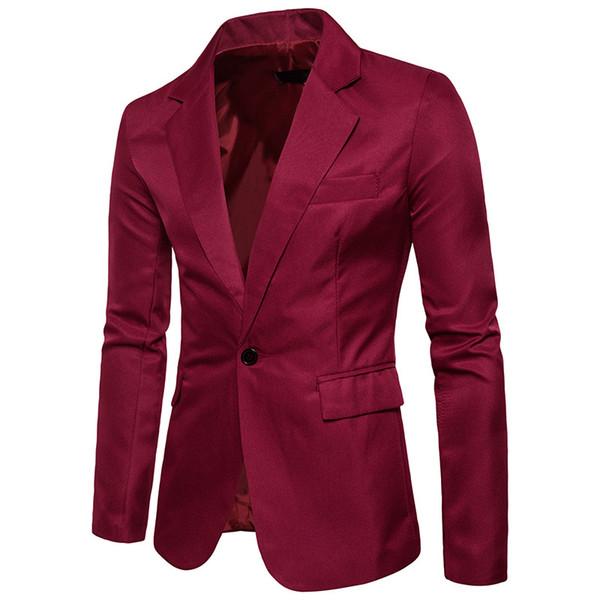 2017 New Men's suit jacket Thin Casual Men Blazer Cotton Slim England Suit Blaser Masculino Male Jacket Blazer Men