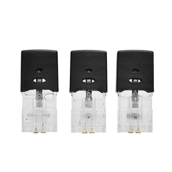 Longmada Bald Alva Pods Sostituzione Atomizzatore 1.0ml Capacità Serbatoio 1.2ohm Cotone / Ceramica Riscaldamento Bobine per Bald Alva Vape Pen Kit