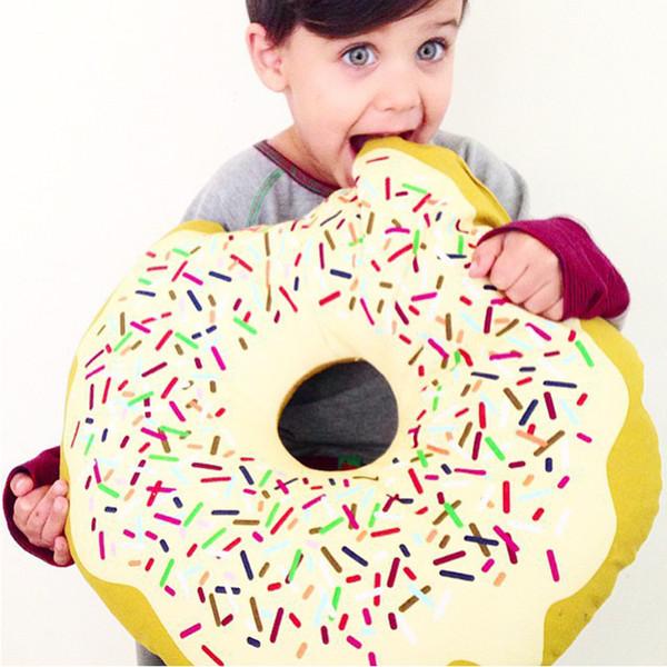 2In1 Infant Photo Cute Cartoon Donuts Baby Pillow Boy Girl Room Chair Doughnuts Cushion Baby Children Kid Donuts Sleeping Pillow