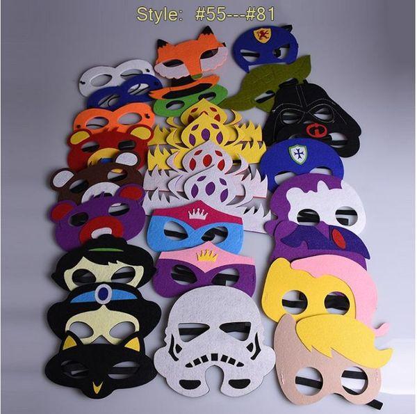 Супер Косплей Маска Хэллоуин одеваются костюм маска дети День Рождения супергерой, потому что пользу подарки