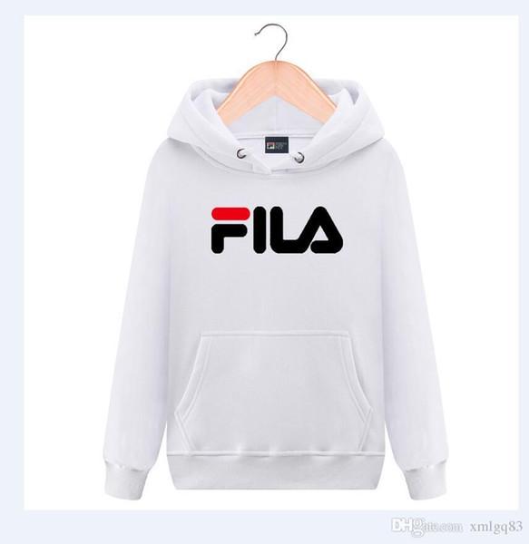 18 Erkek ve kadın klasik Mektup baskılı hoodie Hip hop pamuk kazak Moda artı kadife hoodie Yeni toptan