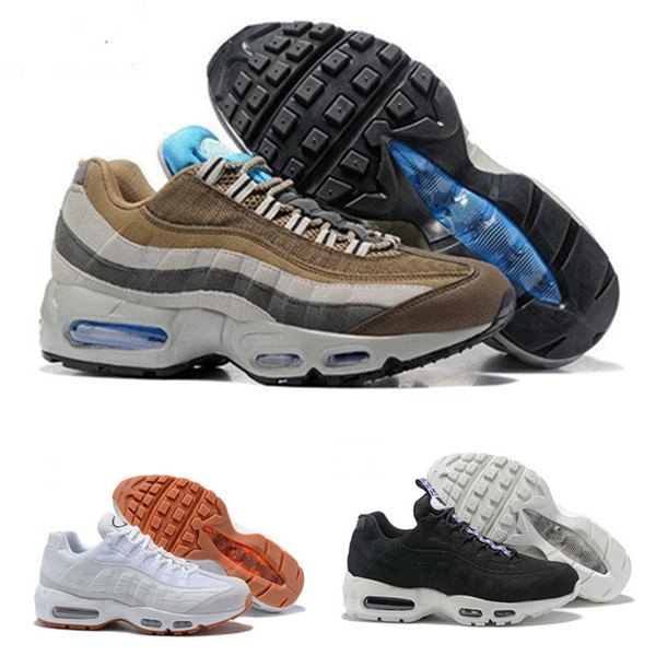 Nike Air Max Nike 95 OG Vapormax Supreme Venta Caliente Zapatillas De Running Hombre Cojín OG Sneakers Botas Auténtico 95s Nuevo Walking Descuento