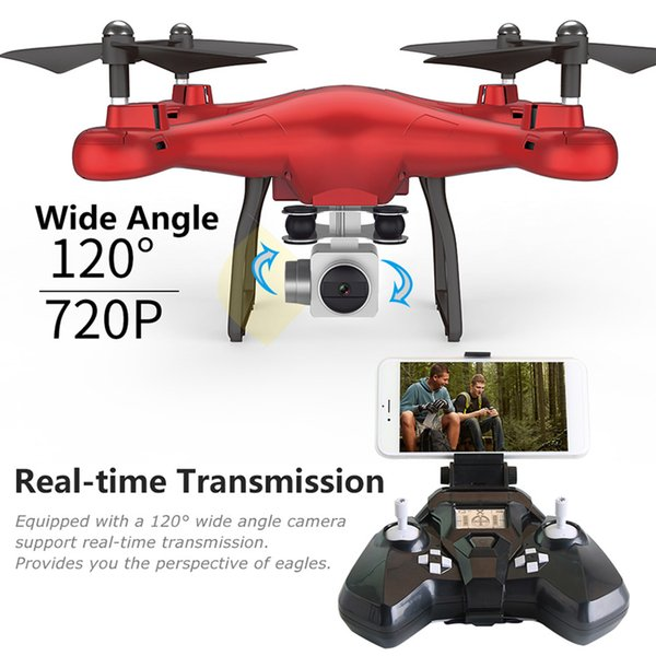SMRC S10 Altitude Hold RC Drone 120 Wide Angle 2MP Camera Helicopter Wifi FPV Quadcopter Remote Control 2.4GHz Professional Toy