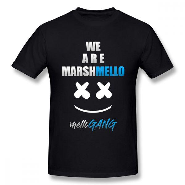 Pour Homme Marshmello Tee Shirt 2018 Nouvelle Arrivée T-shirt Fashin Casual T-shirt