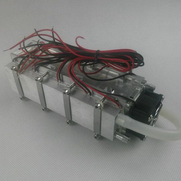 Condicionador de refrigeração refrigerado a água da condição da condição do ar do semicondutor micro condicionador de refrigeração 480w da água
