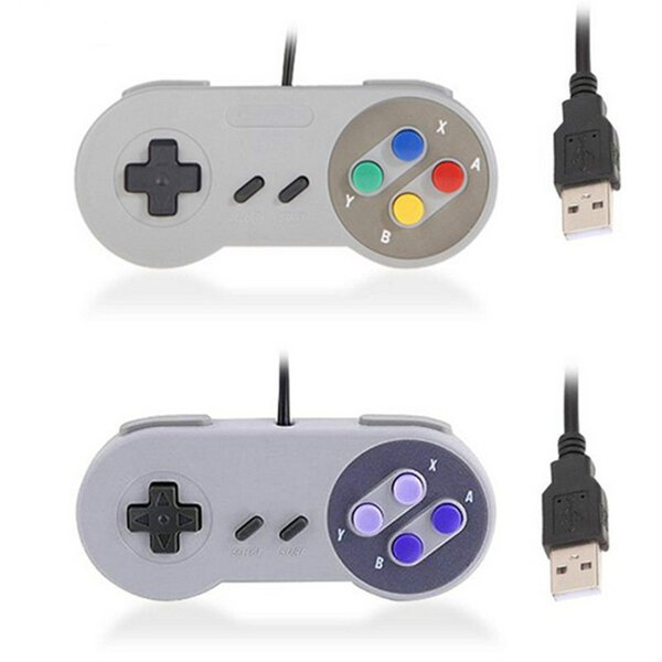 Classic Retro Super for Nintendo SNES USB Controller PC MAC Notebook Laptop USB Game Controller Classic USB Remote SFC Joypad Gamepad