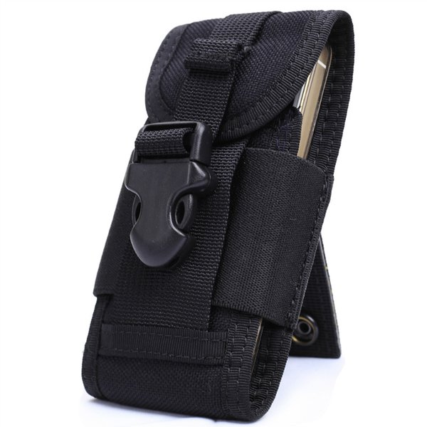 OneTigris MOLLE Tactical Cell Phone Smartphone Pouch fit iPhone 4 5 SE Samsung HTC Nylon Running Cellphone Bag