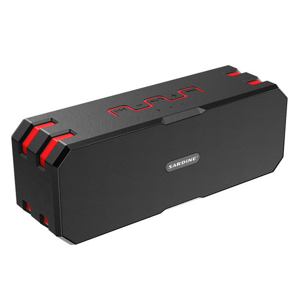 F4 IP65 Wasserdichte Bluetooth Lautsprecher Super Bass Subwoofer Drahtlose Tragbare Outdoor Stereo 12 Watt Lautsprecher Gebaut 5000mah Batterie