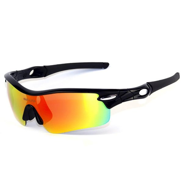 Unisex Style Half Frame Polarized Light Sports Glasses Mountain Bike Bicycle Riding Mirror Sunglasses Fishing Goggles