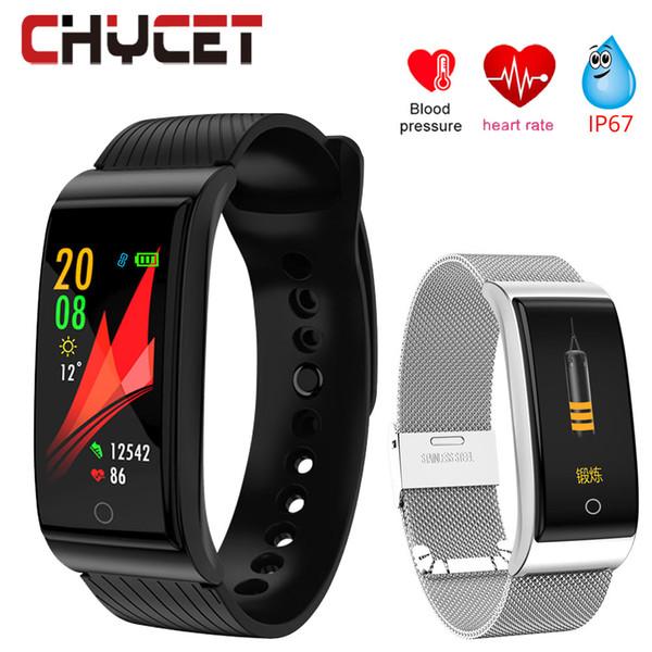 Smart-Uhrenarmband Farbe Bildschirm Blutdruck messen Fitness Aktivität Uhrverfolger Herzfrequenz Wasserdichte Armband überwachen