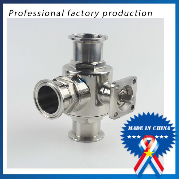 best selling 1 inch Quick-connect Quick-opening Three-way Ball Valve with Bracket