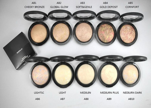 best selling Mineralize Skinfinish Powder Foundation 10g All English Name Have 10 Different Colors