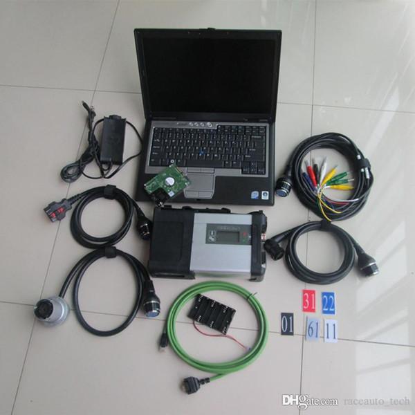 stella diagnostica mb star c5 con laptop d630 2019.07 ultima xentry das epc pronta all'uso