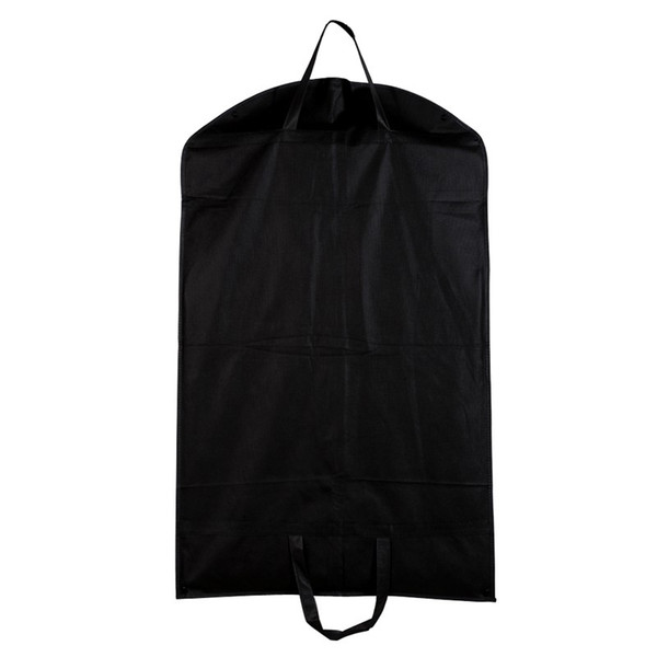 1pc Black Dustproof Hanger Coat Clothes Garment Suit Cover Storage Bags,clothes storage,almacenamiento,Case for clothes E5M1