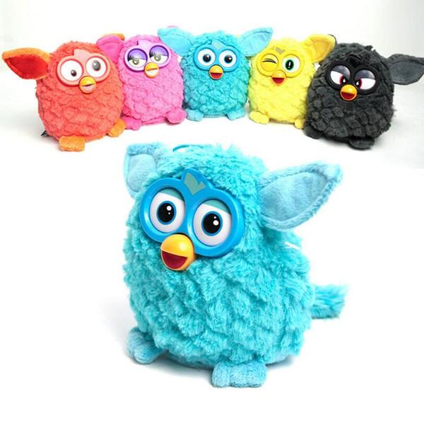 Juguetes interactivos electrónicos Phoebe Doll Firbi Pets Fuby Owl Elves Plush Recording Talking Juguete inteligente Regalos Furbiness Plush boom