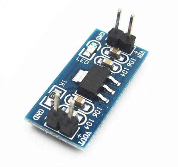 Free shipping!10pcs/lot AMS1117-3.3 DC-DC Step Down Power Supply Module 4.5V-7V To 3.3V Voltage Buck Board Regulator Adapter Convertor