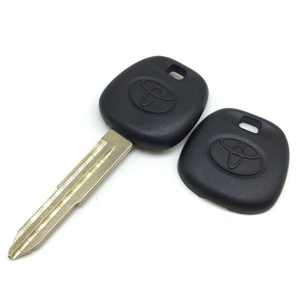 transponder chip key blank for toyota car key shell toy41 blade car key cover