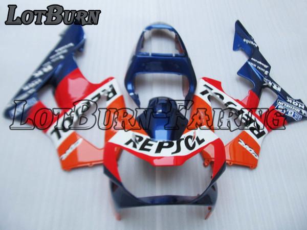Kit carénage en plastique fit pour Honda CBR900RR CBR 900 RR 929 2000 2001 00 01 Carénages Set Custom Made moto, carrosserie B71