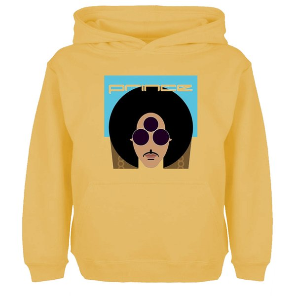 Funny Prince Rogers Nelson Three Eyes Glasses Graphic Hoodie Men Women Boy Girl Multi Color Pulllovers Sweatshirt Cotton Jackets