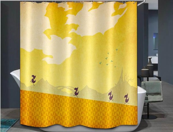 Shower curtain180X180cm