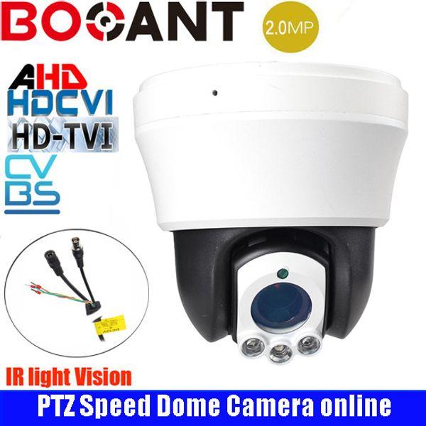 4-inch AHD/CVI/TVI/CVBS HD outdoor security camera high Speed dome Camera 2.0MP 10x Auto zoom IR 30m Dome PTZ camera