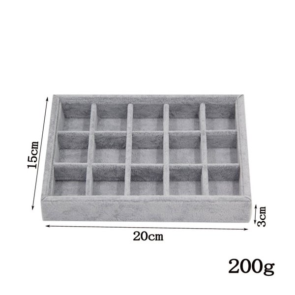 15 grids tray