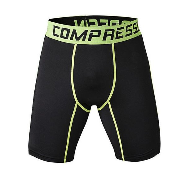 2018 Men Compression Shorts Tights High Elasticity Print Shorts Casual Fitness Camouflage Mens Short Homme Brand Clothing