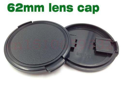 10pcs 62mm Snap-On Lens Front Camera Lens Cap Cover without rope for 62mm filter DSLR Protector