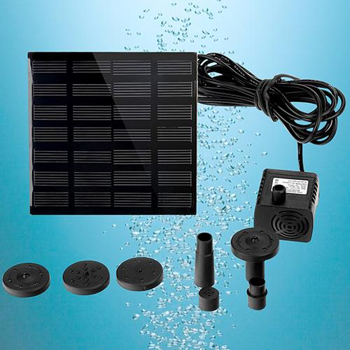 Solar Power Panel Water Pump Garden Brushless Pond Fountain Pool Water Pump