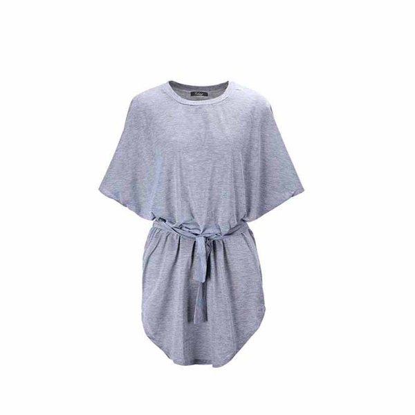 BONJEAN Hot Sale Maternity Clothes O-neck Bat Sleeve Loose T-shirt For Pregnant Women Tees Summer Causal Maternity Tops