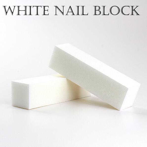 Хорошее качество Оптовая Белый полировка шлифовальные файлы блок педикюр маникю