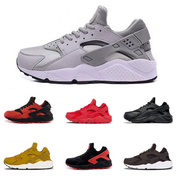 82d66e64f5d1 Cheap Air Huarache 4.0 1.0 mens Running Shoes Triple white black white all  red black red Women Sneaker Sports Trainers shoes