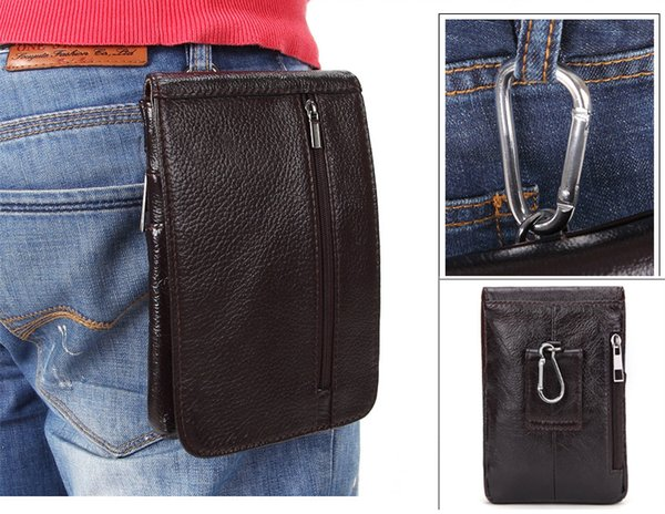 Luxury Genuine Leather Vertical Waist Bag case For Samsung Galaxy S8 Plus Belt Clip Pouch smartphone Holster Cover capa fundas